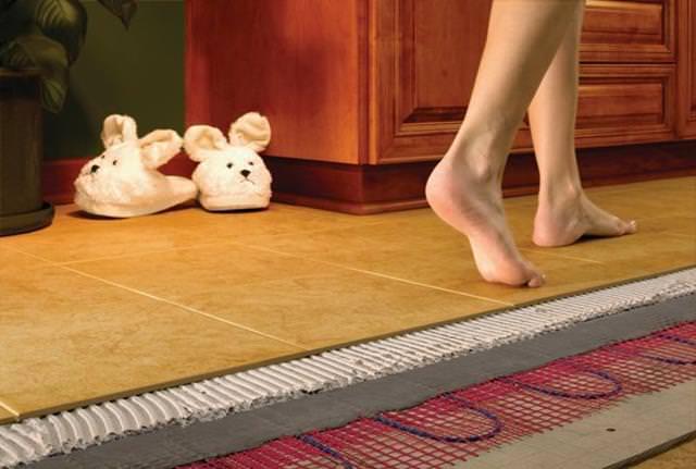 Как выбрать теплый электрический пол?