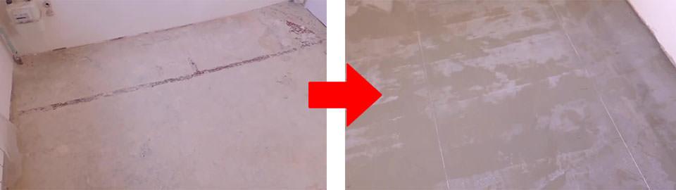 Как выровнять пол с помощью бетонной стяжки своими руками?