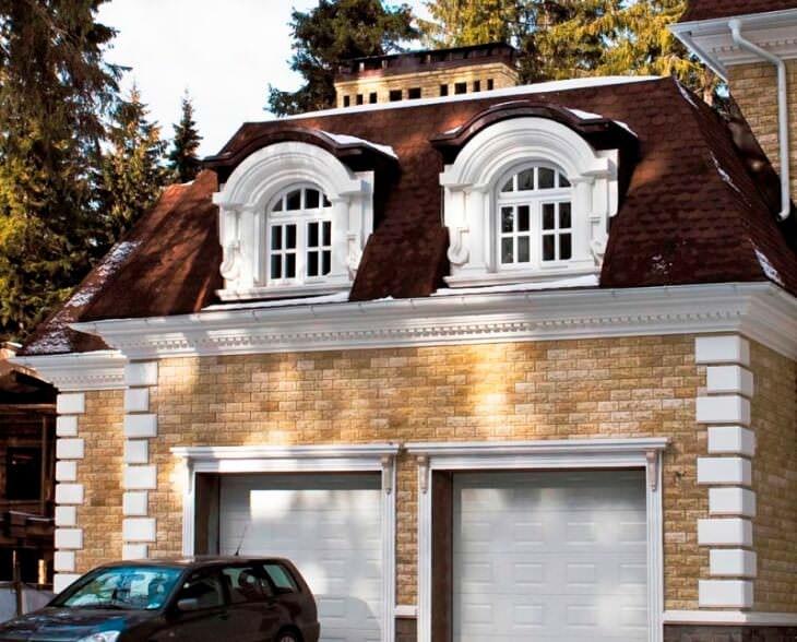 Какие выбрать материалы для фасадного декора