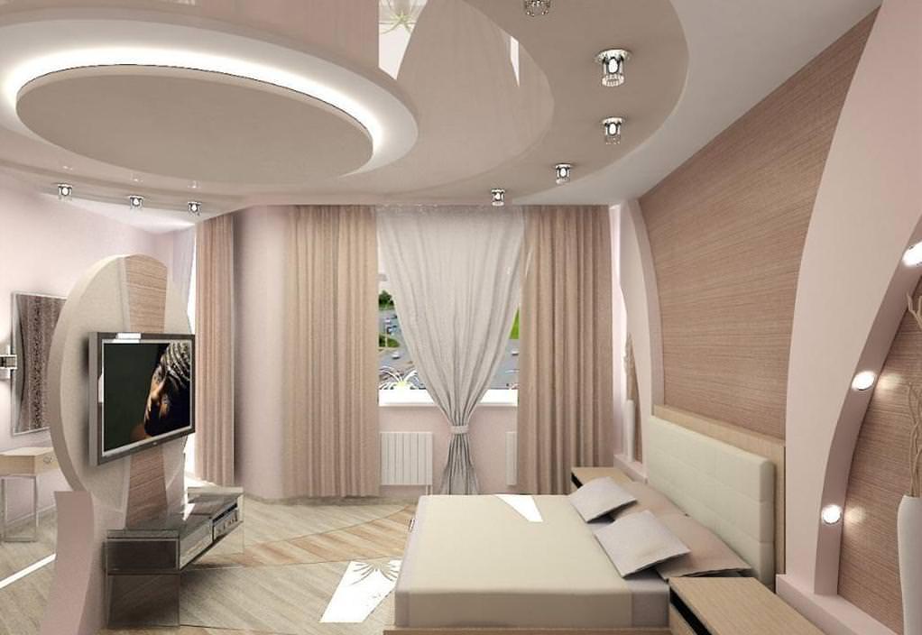 Какой потолок выбрать для спальни