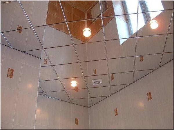 Какой тип потолка лучше всего подходит для ванной – подборка вариантов