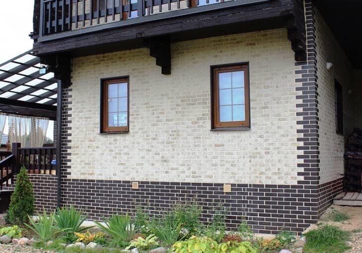 Клинкерная плитка для фасада, цоколя, садовых дорожек
