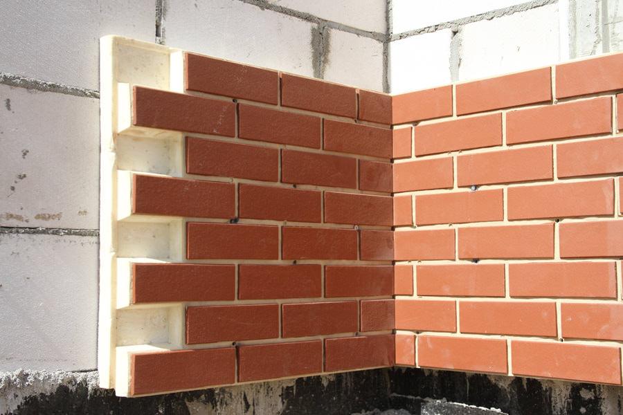 Клинкерные панели для фасада – этапы отделки