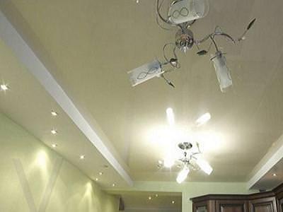 Красивые потолки из гипсокартона и их фото для кухни
