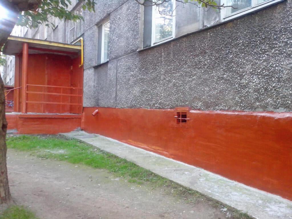 Краски для цоколя фундамента