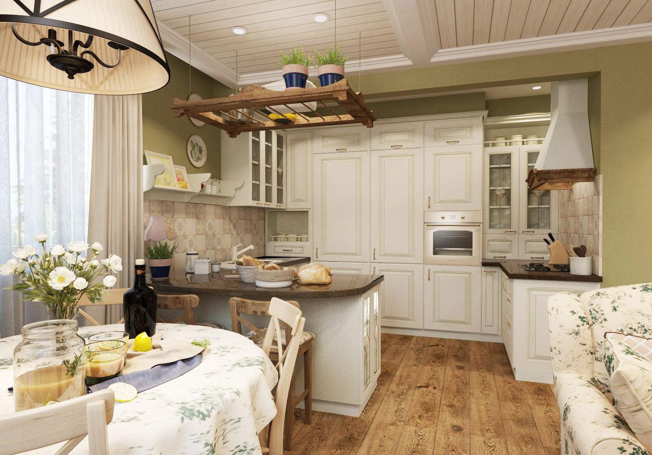 Кухня-гостиная в стиле лофт: простор и функциональность