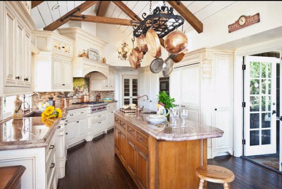 Кухня в стиле прованс — от глянцевых фото к живому интерьеру