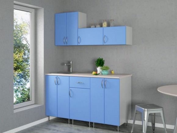 Кухонный гарнитур для маленькой кухни: 40 фото примеров