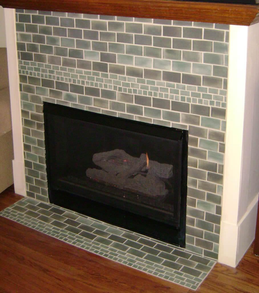Многообразие плиток для камина: какую выбрать и как облицевать?