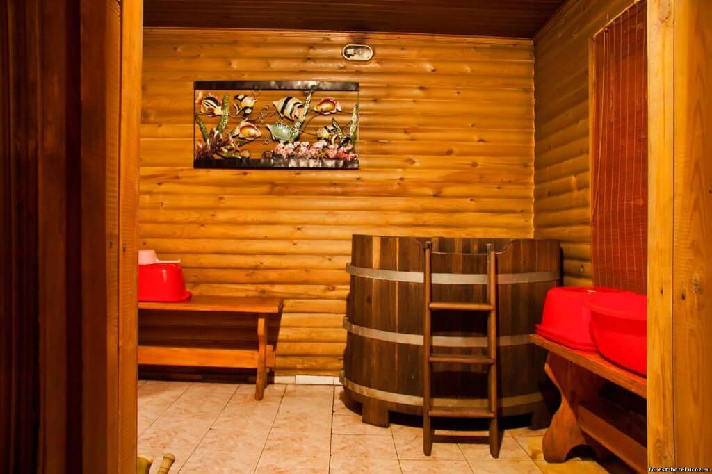 Моечная: отдельная комната в бане