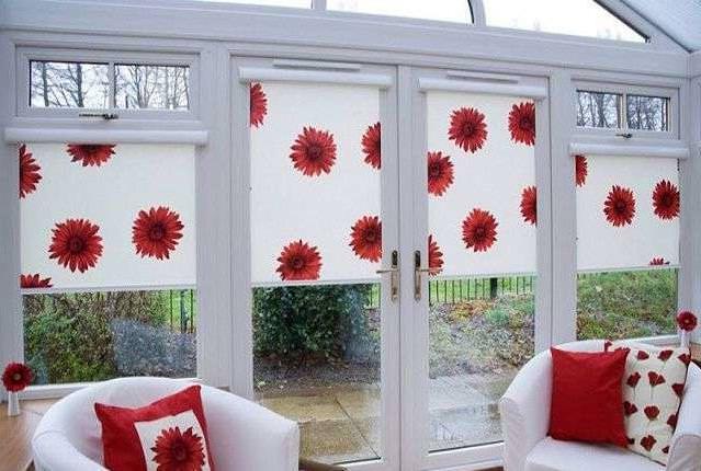 Монтируем рулонные шторы на пластиковые окна