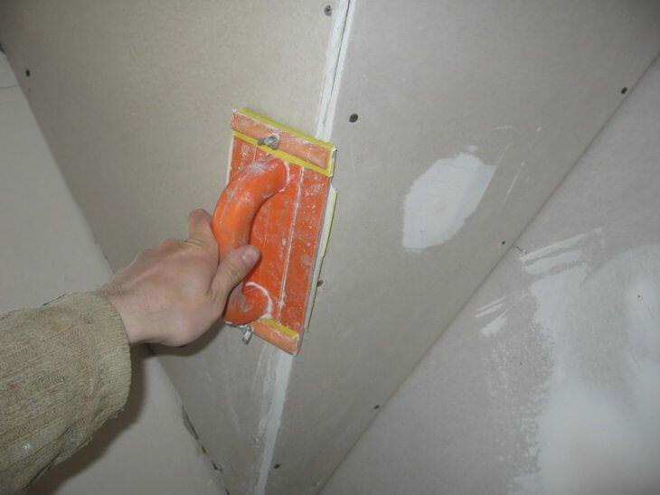 Наждачная сетка и бумага для шлифования под покраску