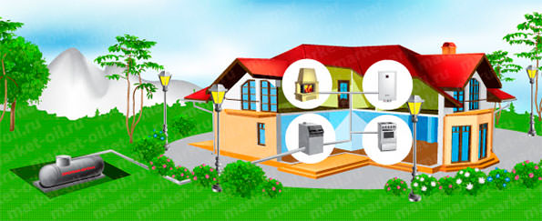 Обустройство дачи: автономная газификация частного дома под ключ