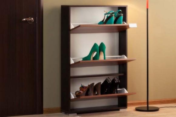 Обувница в прихожую: узкие конструкции для благоустройства помещений