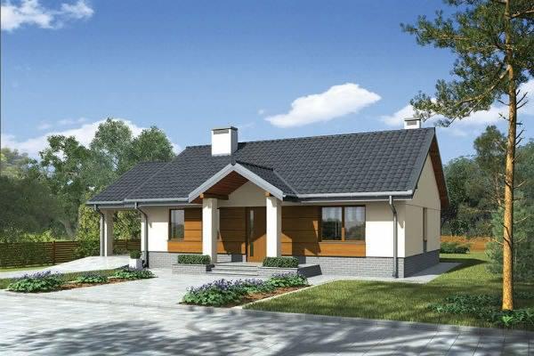 Одноэтажные каркасно-щитовые дома: оцениваем достоинства и выбираем проект дома