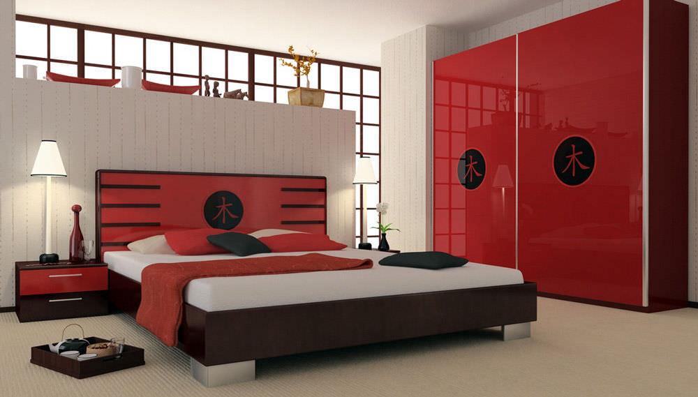 Оформление комнаты в японском стиле