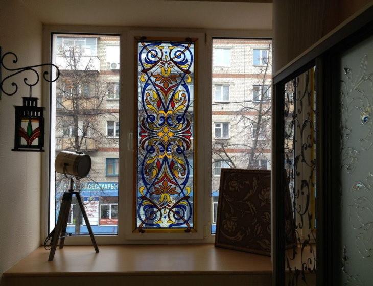 Оригинальные идеи для дома: роспись витражными красками по стеклу