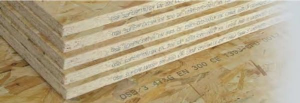 Основные размеры ОСБ плит различных стандартов и производителей