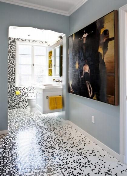 Отделка ванной комнаты плиткой: 47 фото дизайна для санузла