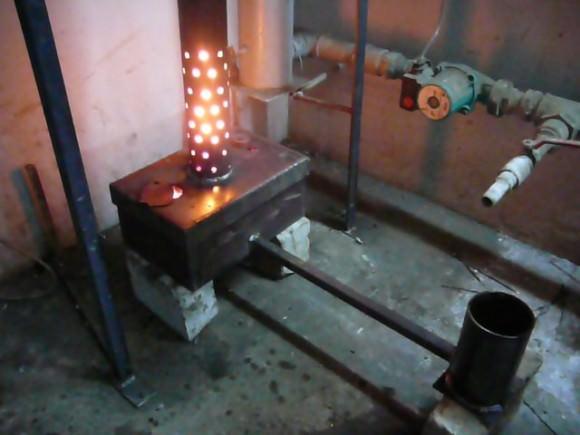 Печка на отработке своими руками: преимущества и недостатки
