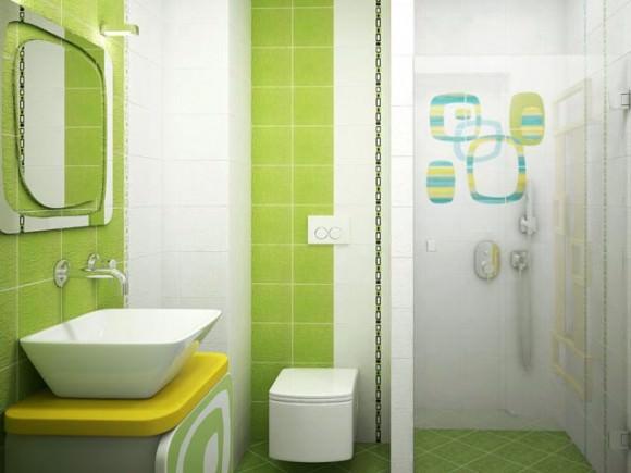 Плитка в ванную комнату: дизайн, фото