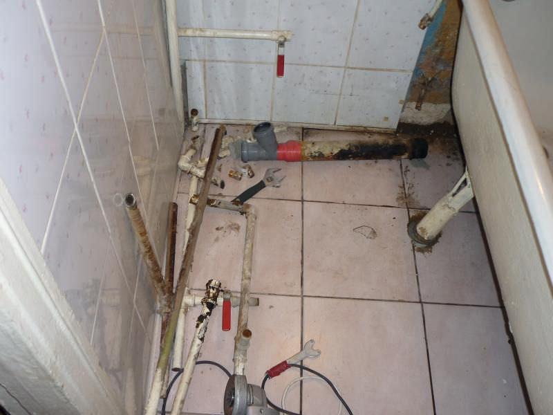 Пошаговое руководство по замене труб в ванной
