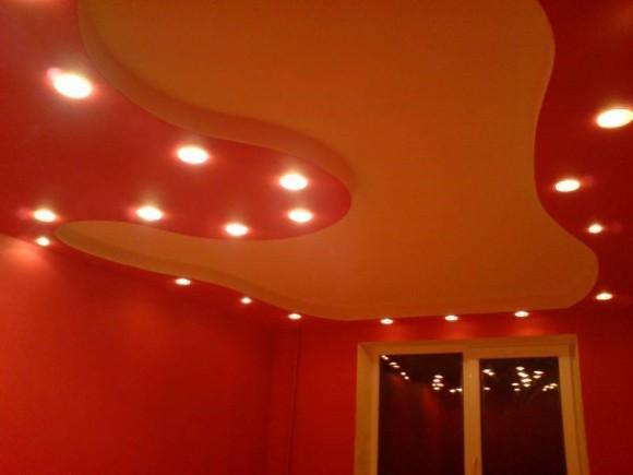 Потолки из гипсокартона: 47+ фото дизайнерских решений