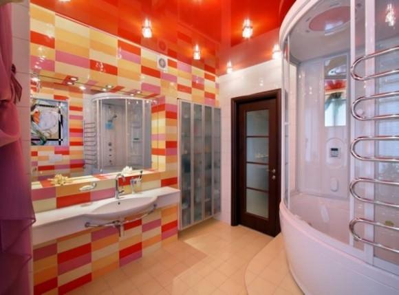 Потолок в ванной комнате какой выбрать — критерии выбора