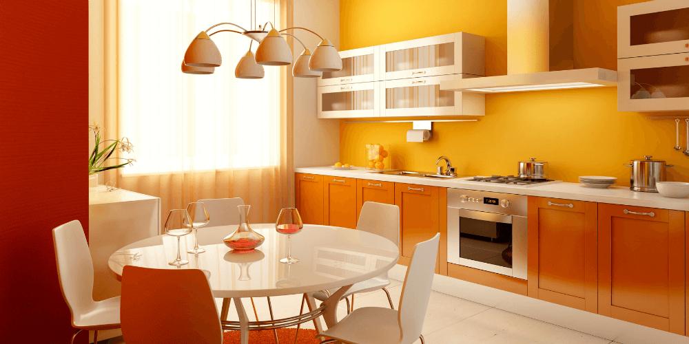 Правильный выбор люстры для кухни