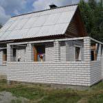 Прибудова до будинку з піноблоків – поетапний процес