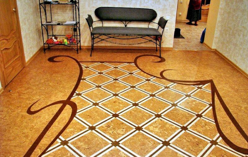 Пробковый пол в квартире: плюсы и минусы