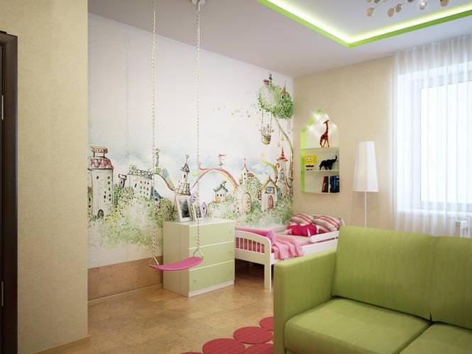 Продумываем дизайн детской комнаты для девочки-подростка