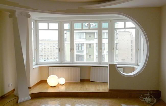 Расширение комнаты за счет лоджии или балкона
