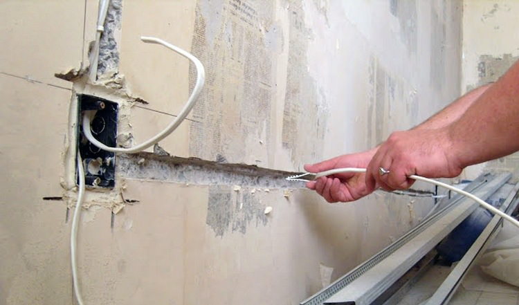 Разводка электропроводки в квартире: схема, инструкция, монтаж