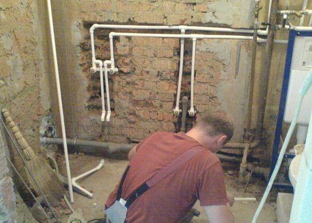 Разводка водопроводных труб в квартире