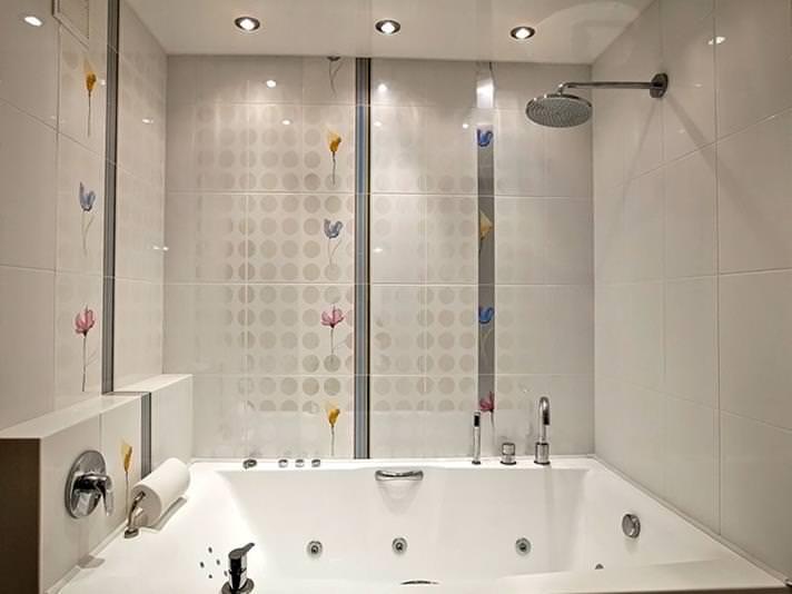 Ремонт в ванной комнате с использованием пластиковых панелей