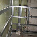 Ремонт у ванній кімнаті з використанням пластикових панелей