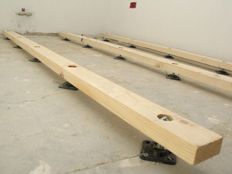Ремонтируем пол в сталинке с деревянными перекрытиями