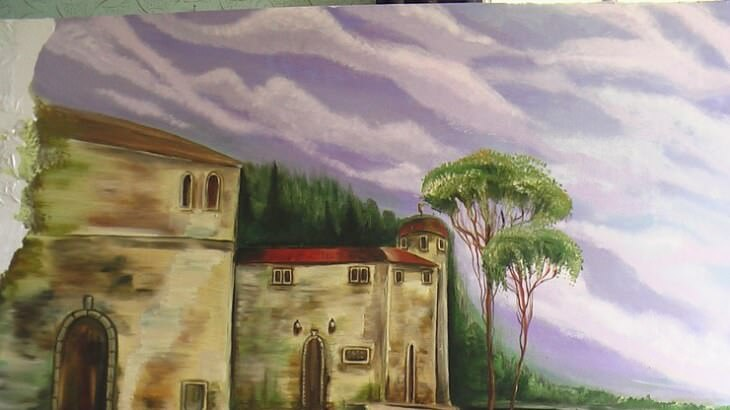 Рисунки на стенах своими руками создадут настроение, и сделают интерьер неповторимым