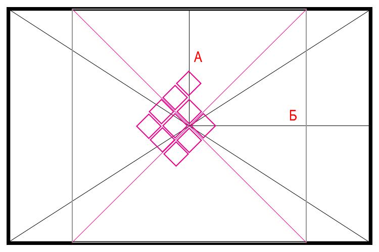 Руководство по укладке плитки по диагонали на пол