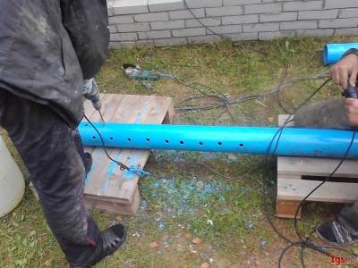 Самодельный фильтр-грязевик для скважины из подручных материалов и пластиковой трубы