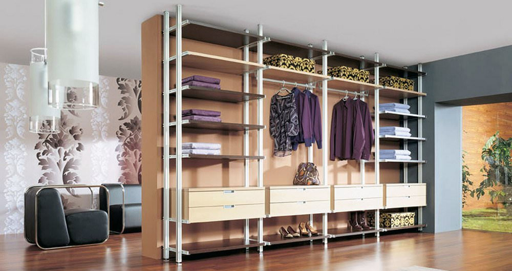 Самостоятельное обустройство гардеробного шкафа