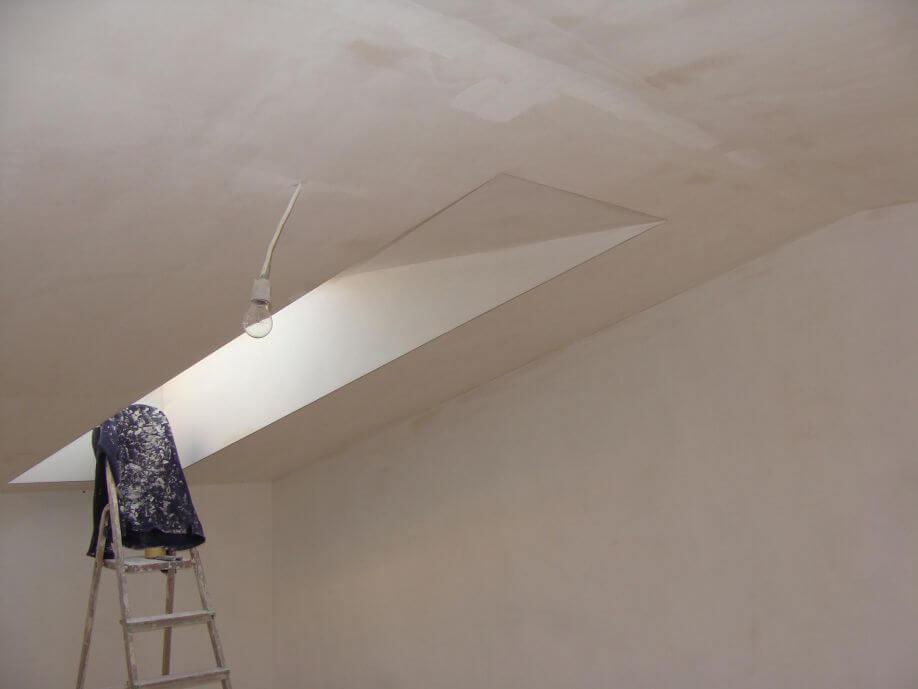 Секреты грамотной шпаклёвки потолка своими руками