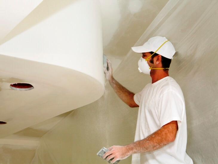 Шлифовка стен после шпаклевки: все о ручном способе обработки стены