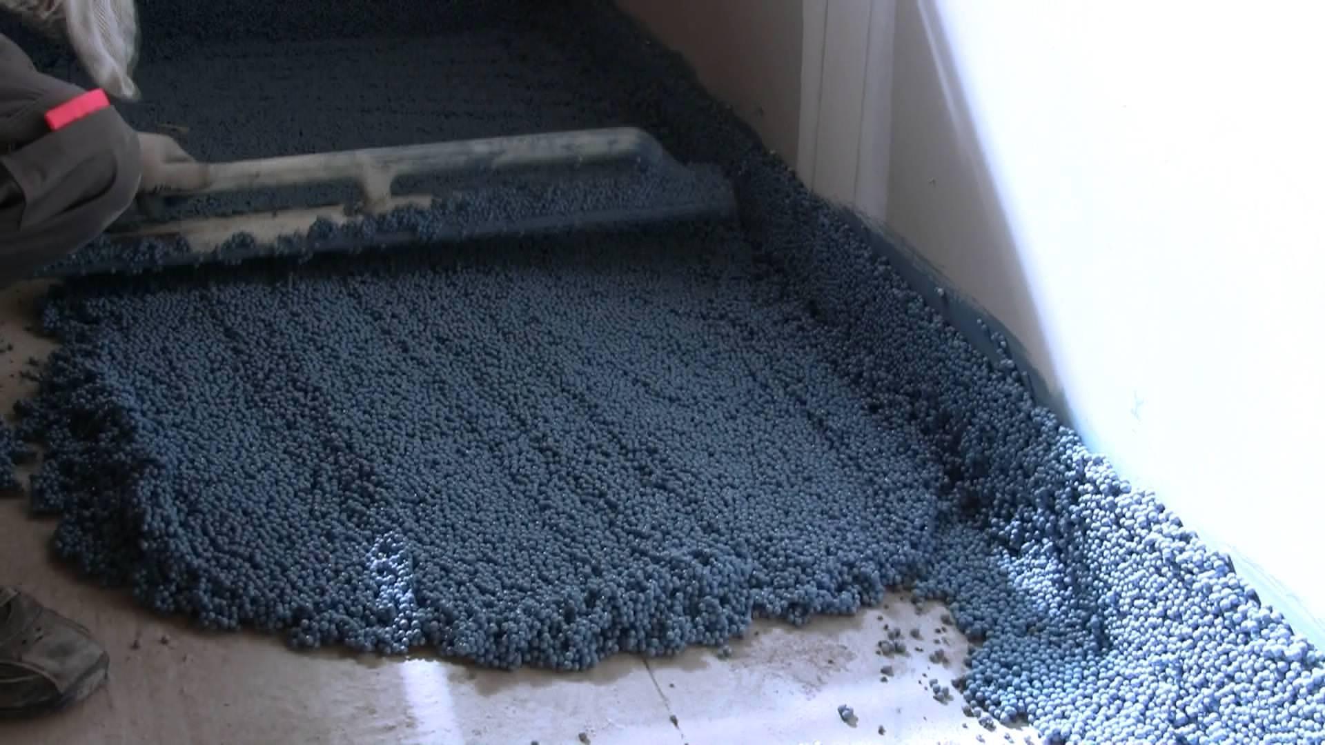 Шумоизолируем пол в квартире под стяжку