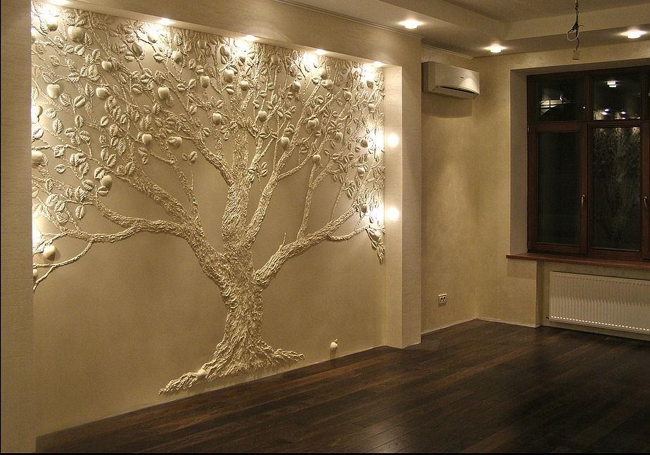 Советы и варианты отделки стен в квартире своими руками