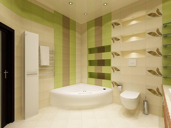 Советы по дизайну ванной комнаты совмещенной с туалетом