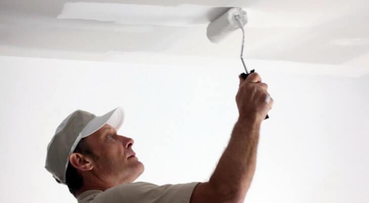 Советы по выбору грунтовки для потолка
