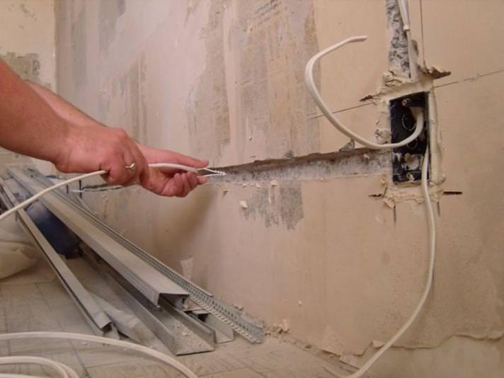 Советы по замене электропроводки своими руками