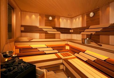 Современная отделка бани внутри: варианты, нюансы, фото